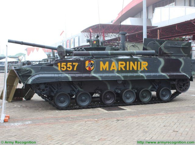 Indonesia looking to produce rounds and components of the BMP 3F infantry fighting vehicle IFV 640 001