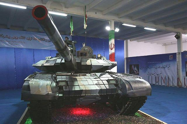 Iran launches production line of new Karrar home made MBT main battle tank 640 001