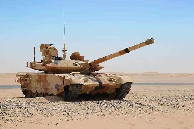Kuwait is interest to purchase Russian made T 90MS main battle tanks 640 001