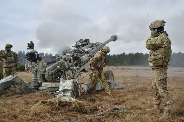 Large military exercise Dynamic Front II in Germany with 1400 soldiers from nine NATO nations 640 001