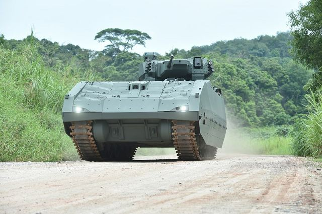 According a press release published on Wednesday, March 22, 2017, the Ministry of Defence of Singapore has awarded a contract to Singapore Technologies Engineering for the production and the delivery of a new tracked Armoured Fighting Vehicle (AFV).
