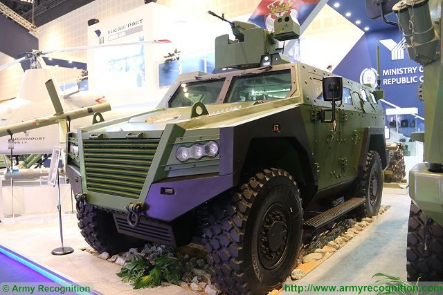 Police and Gendarmerie forces of Serbia will receive Milosh and Lazar 3 armoured vehicles 640 001