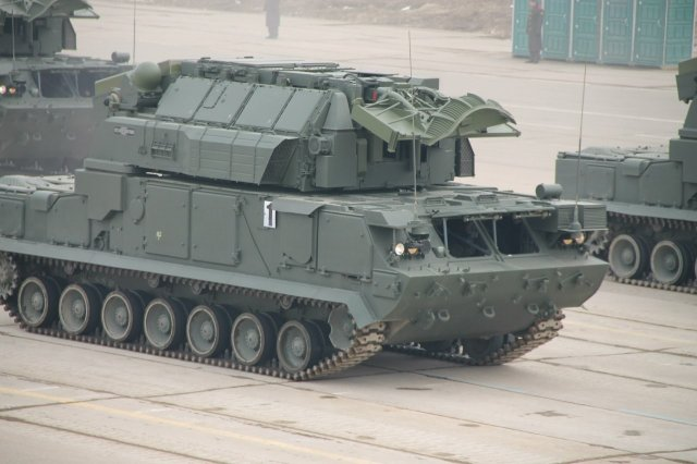 Russia Western Military District receives Tor M2U air defence system 640 002