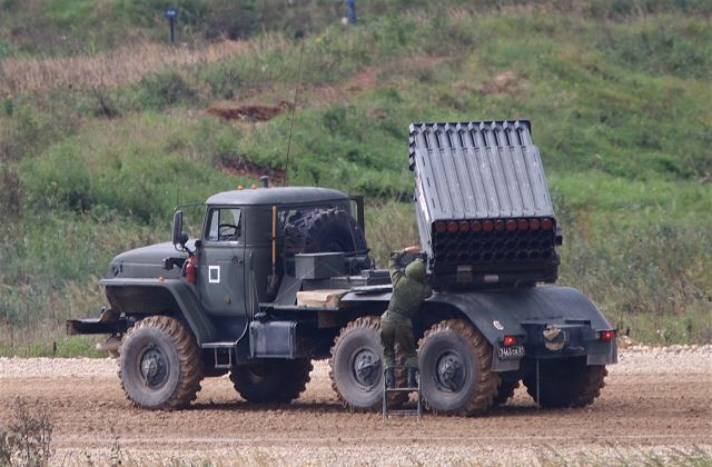Russian Artillery units of the Western Millitary District receives Tornado G MLRS 640 001