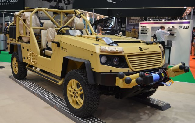 Supacat associates with Rheinmetall MAN to propose new vehicles for the Dutch Army 640 001