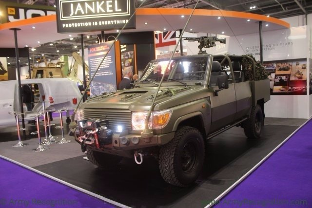 Tactical vehicles and protection systems manufacturer Jankel reaffirms UK as major production base 640 001