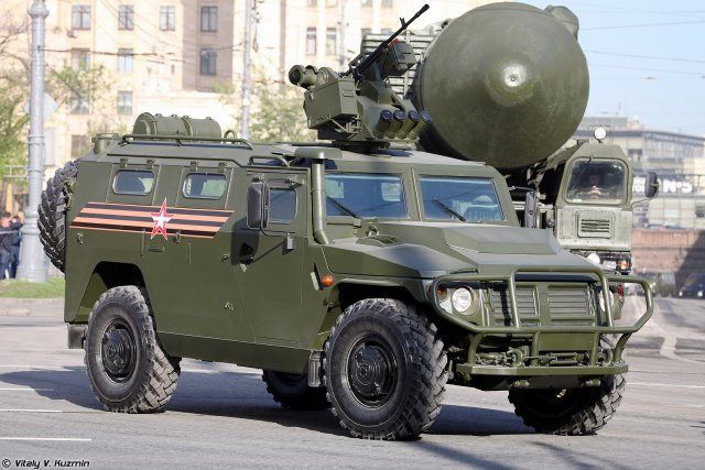 Tigr M armored car with remote controlled Arbalet DM module enters Russian Army inventory 640 001