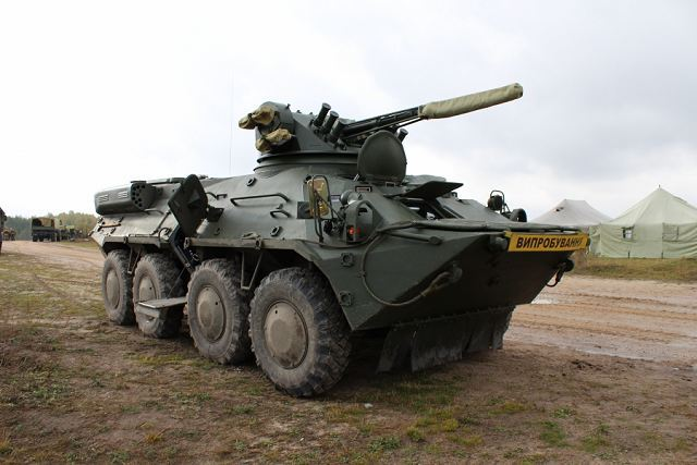 Ukraine continues to promote BTR 3 and BTR 4 armoured personnel carrier to international market 640 001