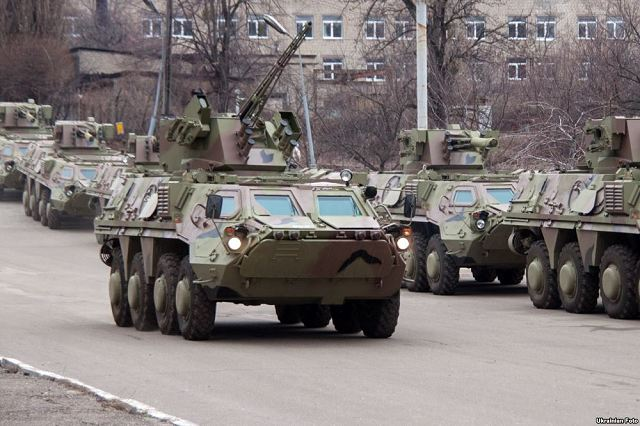 The conflict between the central Ukrainian government and Russian-supported separatists in Ukraine's eastern regions of Donetsk and Luhansk has effectively placed Ukraine's defense industries on a war footing. (Source Forecast International Weapons Group)