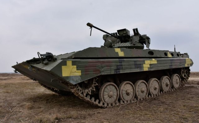 "Combat modules ""Shkval"" and ""Stilet"" – intended to arm modernized IFV, designed by UOP SE ""Zhytomyr Armored Plant""-  passed works tests at one of the military training areas of Zhytomyr region. During testing, specialists of ""Zhytomyr Armored Plant,"" other UOP enterprises and specialists of the Ministry of Defense of Ukraine analyzed accuracy, speed and efficiency of each combat unit."