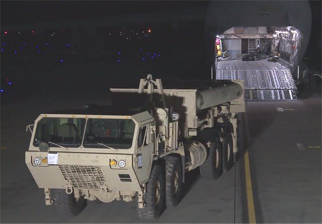 Tuesday, March 7, 2017, the United States has started the deployment of the THAAD (Terminal High Altitude Area Defense), in South Korea. The deployment came after new launchs of four ballistic missiles by North Korea, Monday, March 6, 2017.