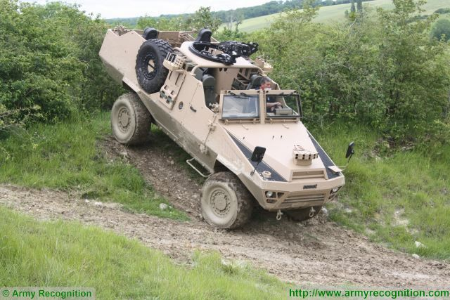 The Bastion Patsas is a wheeled armoured vehicle developed and designed by the French Defence manufacturer Acmat to answer to the new requirements of Special Forces and reconnaissance units.