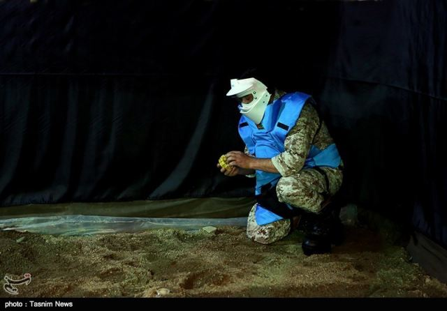 Iran's defense minister on Tuesday unveiled a homegrown system that simulates conditions in a minefield, used for training demining teams. Brigadier General Hossein Dehqan unveiled the domestically developed simulator on the sidelines of a conference in Tehran marking the International Mine Awareness Day.