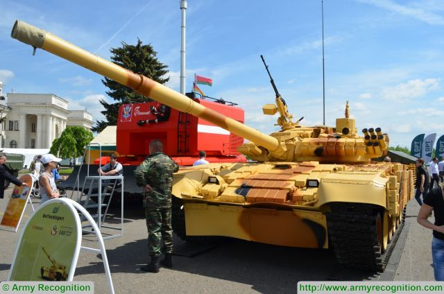 Belarus's 140th Repair Plant has upgraded the T-72 main battle tank to the T-72BME level, a spokesman for the plant told TASS at the MILEX 2017 international arms exhibition in Minsk.