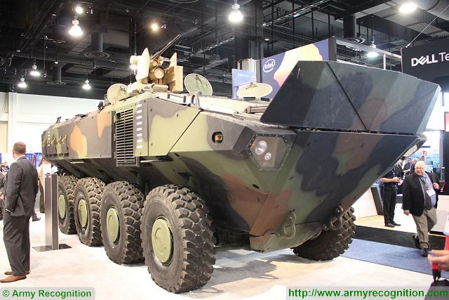 Review ACV 1.1 amphibious armored BAE Systems US Marine Corps ...
