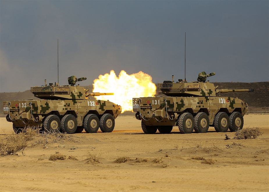 Live firing exercise for Chinese army near its Djibouti military base 925 001