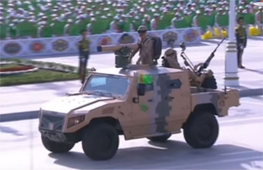 NIMR Ajban LRSOV and 440A manufactured in UAE in service with Turkmenistan army 925 002