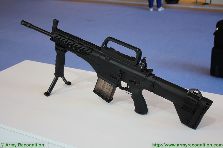 Order for mass production of 45000 Turkish MPT 76 assault rifles 925 001