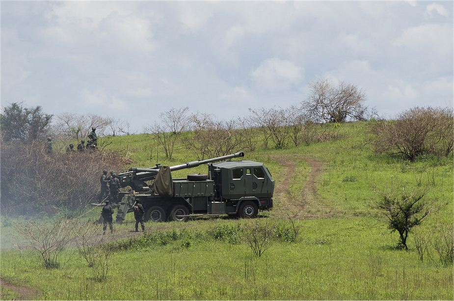 Rwanda armed forces equipped with Israeli ATMOS 155mm and PLZ 89 122mm howitzers 925 002