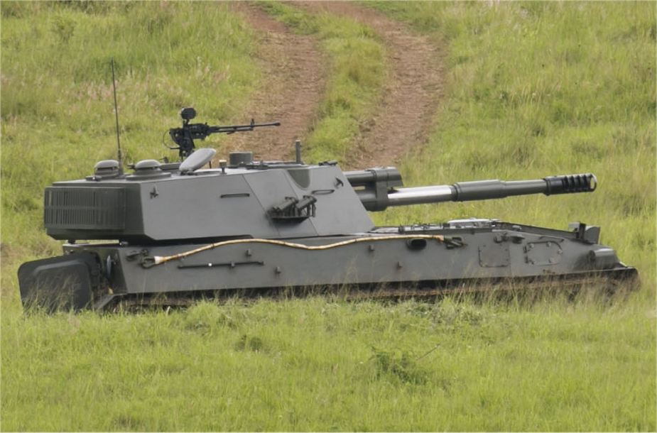 Rwanda army SH 3 122mm tracked self propelled armoured howitzer not PLZ 89 925 001