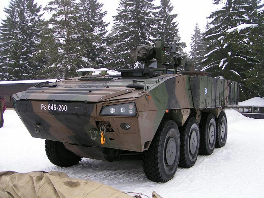 Slovakia to purchase Finnish Patria AMV 8x8 armoured vehicles 925 001