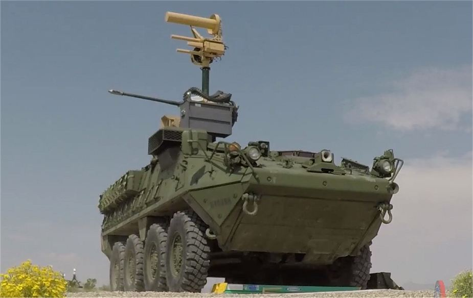 Live Firing Demonstration With New Mobile Shorad Systems