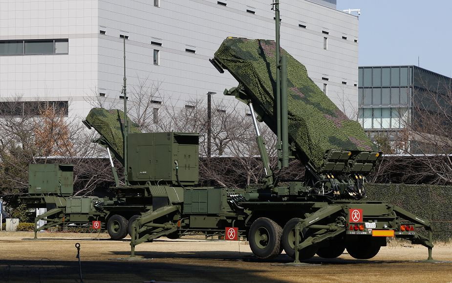 Japanese army will conduct training with Patriot PAC 3 air defense missile system 925 001