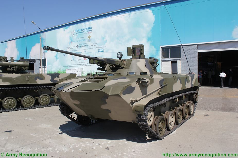 Russian BMP 2 and BMD 2 IFV upgraded with new Berezhok weapon station turret 925 001