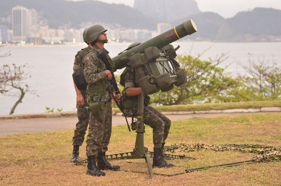 SAAB from Sweden to deliver new order of RBS 70 man portabble air defense missile systems to Brazil 925 002