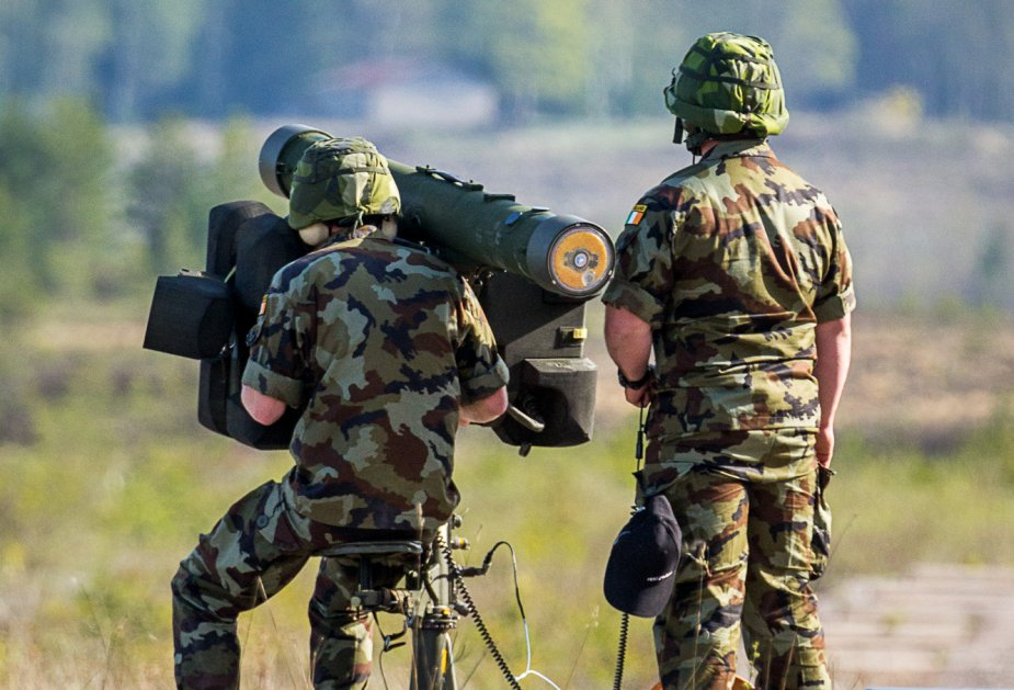 Irish Army conducts successful live firings of SAAB RBS 70 and RBS 70 NG 925 001