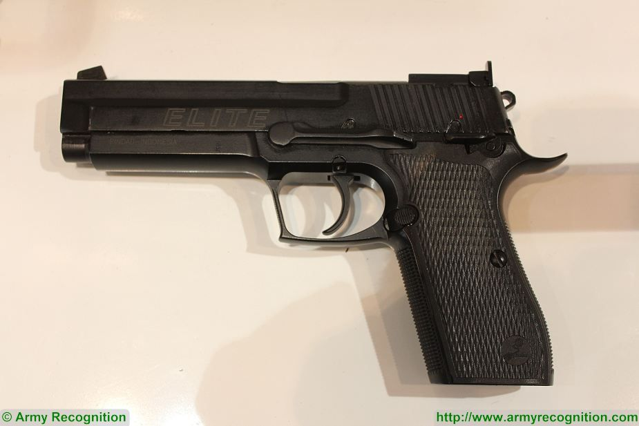Laos has showed interest to purchase PT Pindad G2 Elite Pistol Indonesia 925 001