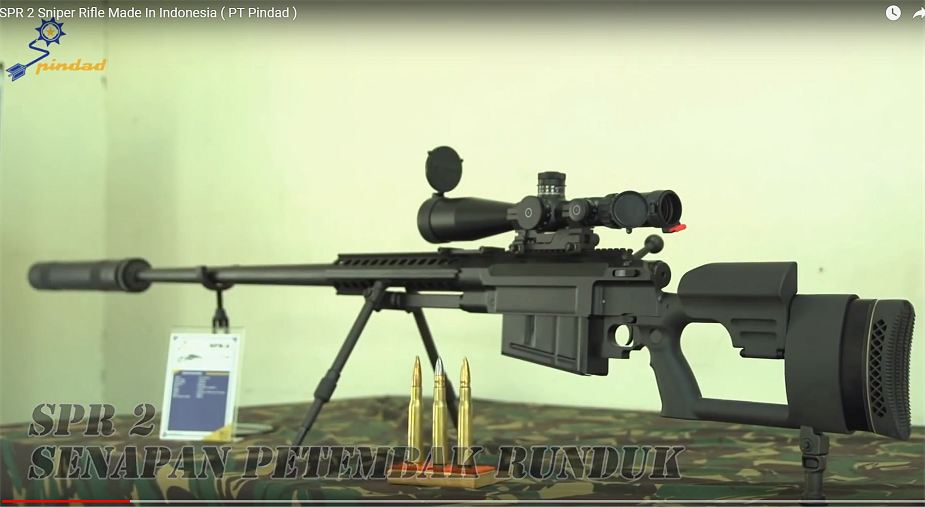 Laos has showed interest to purchase PT Pindad SPR 2 Sniper rifle Indonesia 925 001