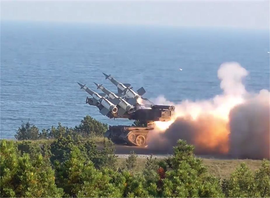 Live firing Newa SC air defense system Polish army The Dragon 17 NATO military exercise 925 001