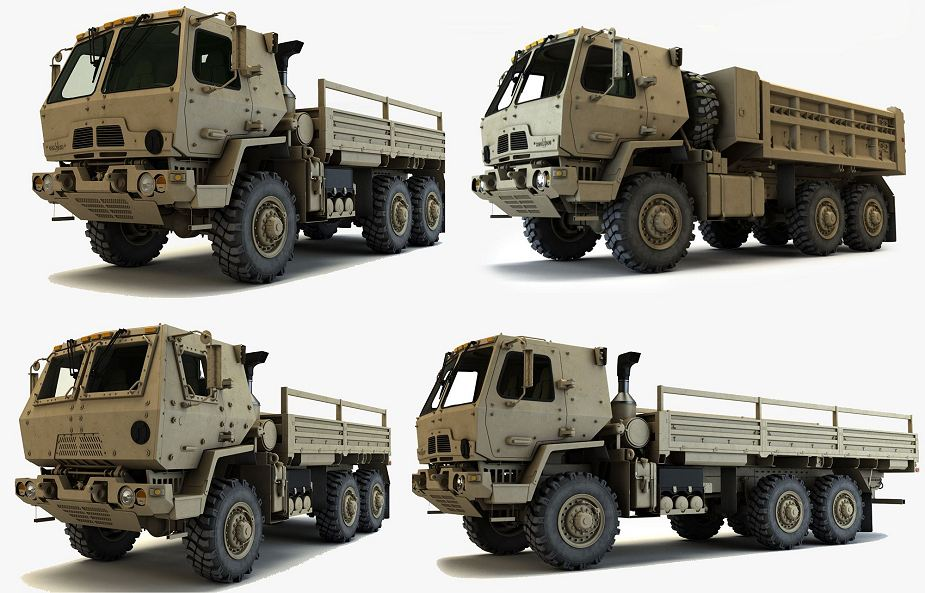Oshkosh Defense contract to produce FMTV A1P2 trucks for US