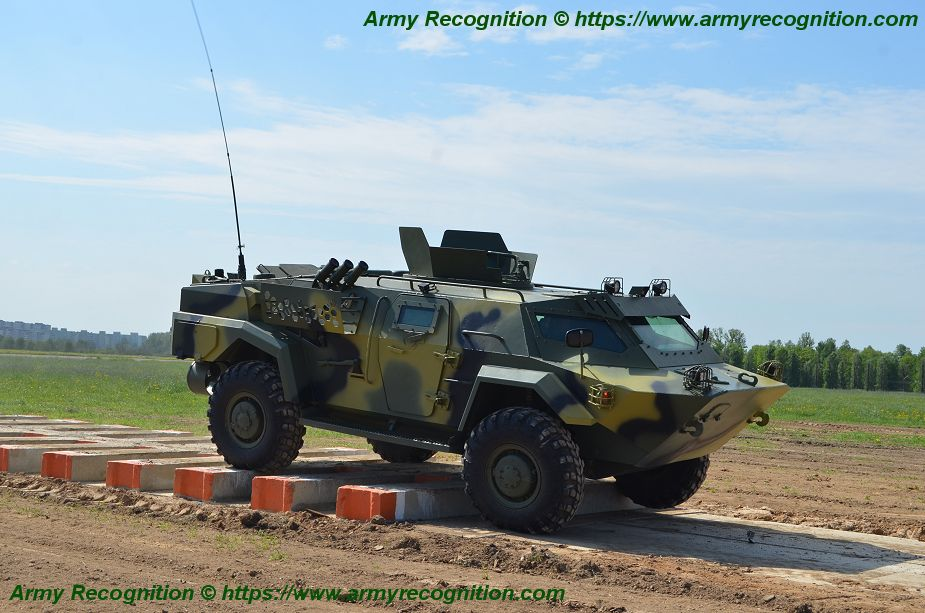 Belarus will delivered local made Cayman 4x4 armored to African country 925 001