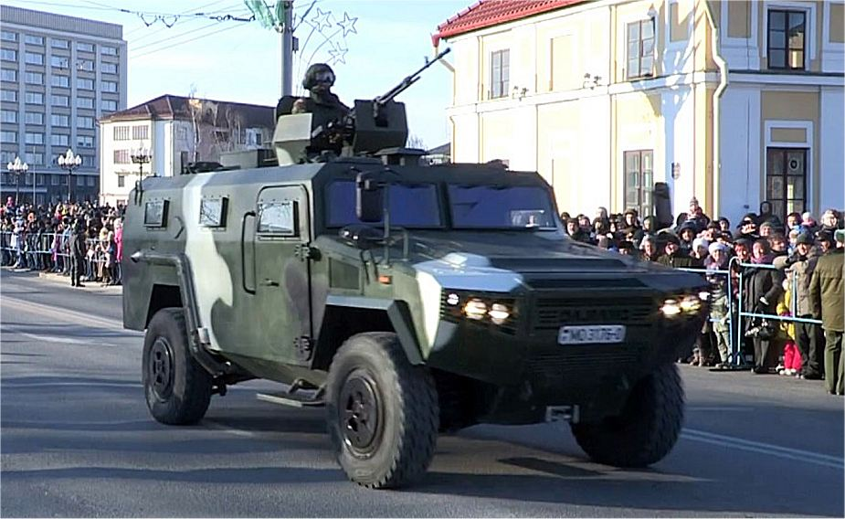 CS VN3 Drakon 4x4 armord vehicle Belarus military parade 2018 Independence Day 925 001