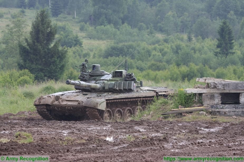 Czech T 72M4 CZ main battle tanks to be upgraded