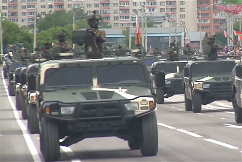 DongFeng Mengshi EQ2050F Belarus military parade 2018 Independence Day 925 001