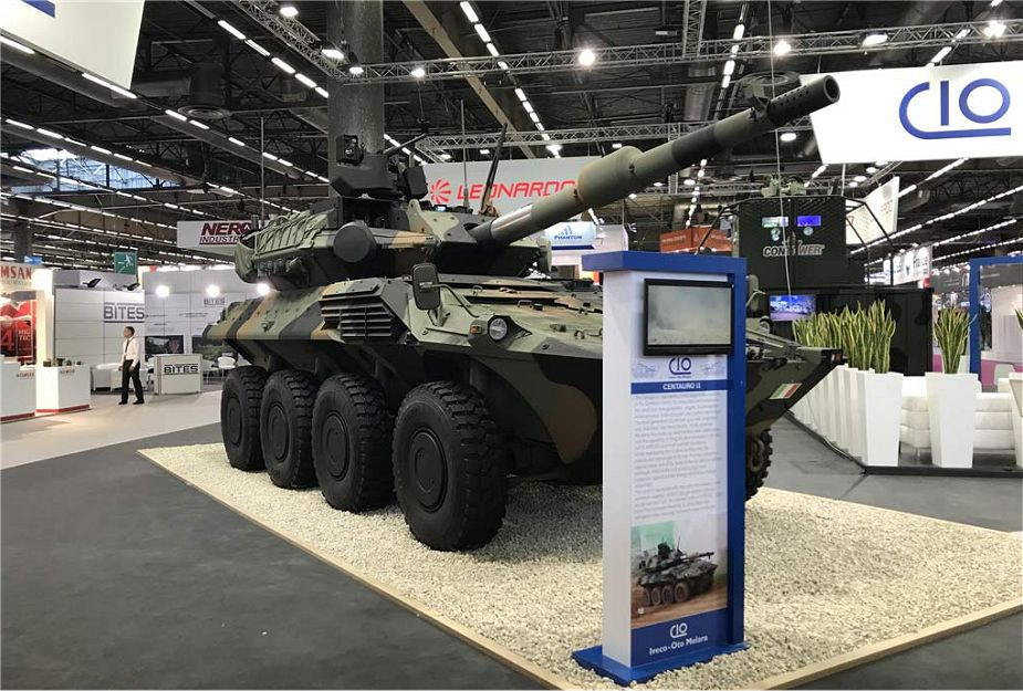 IVECO Defence Vehicles contract to deliver 10 Centauro Mobile Gun Systems to Italian Army 925 001