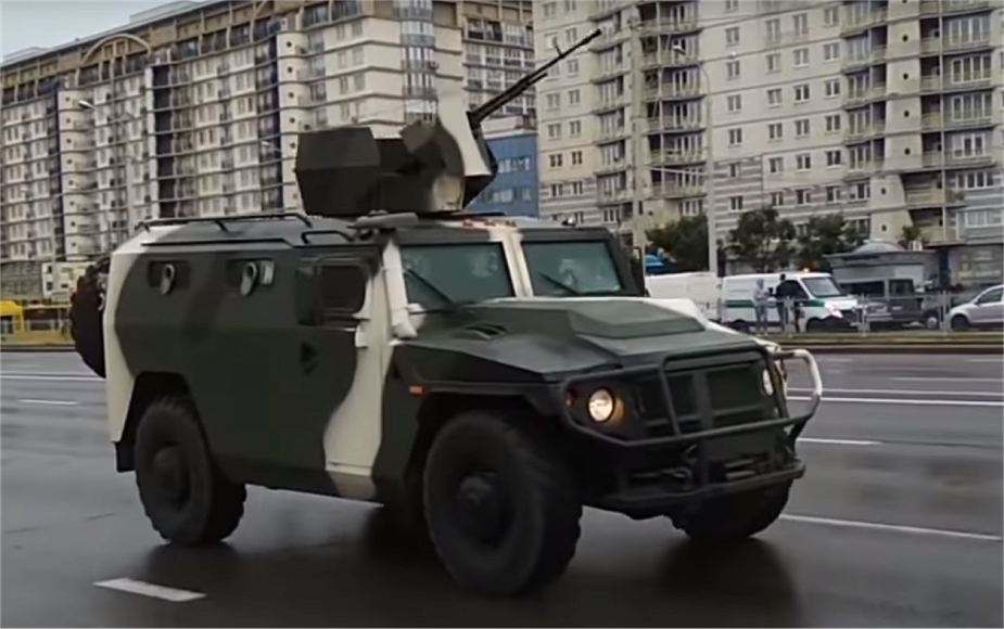 Lis PM 4x4 armored Belarus military parade 2018 Independence Day 925 001