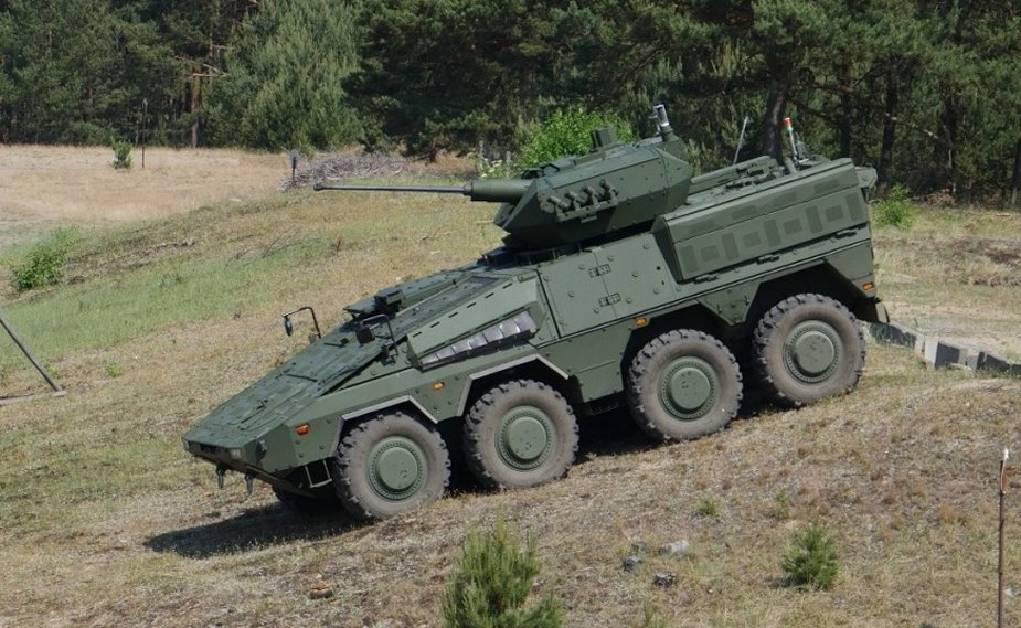 Lithuanian Vilkas infantry fighting vehicles tested in Germany