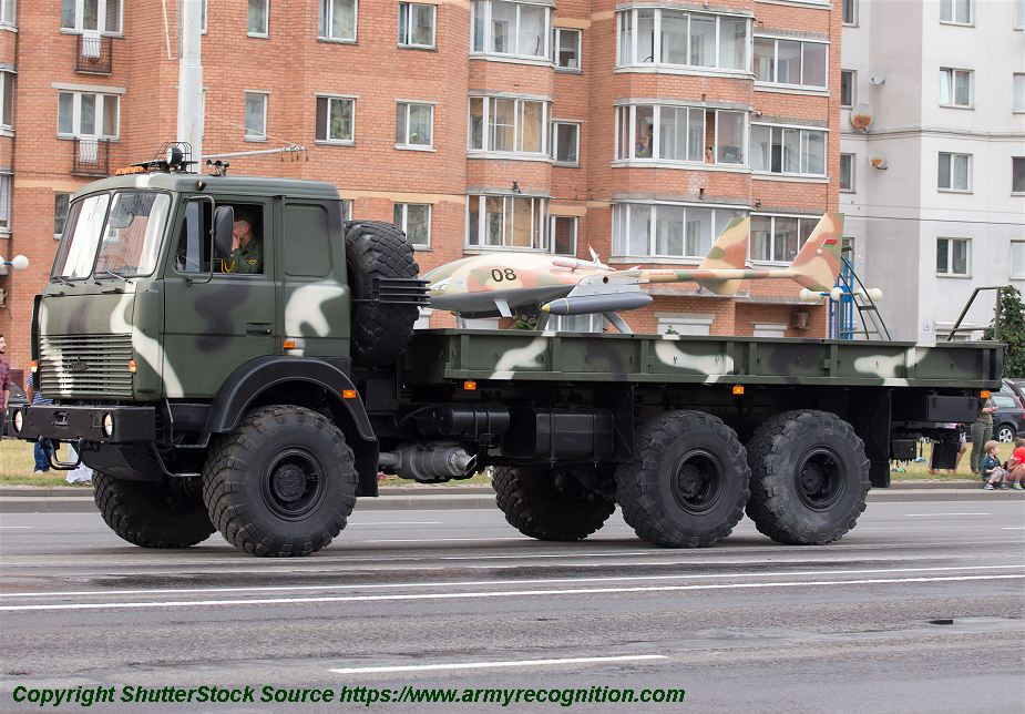 Local made Burevestnik MB armed drone in service with Belarus army 925 001
