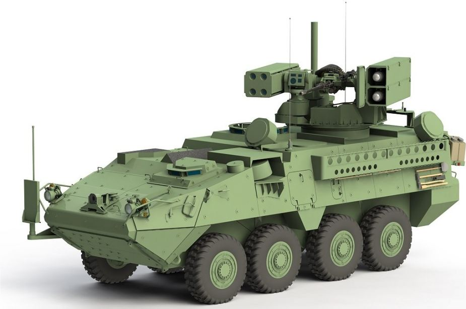 RADA MHR radar will be mounted on new US Army IM SHORAD armored vehicle 925 002