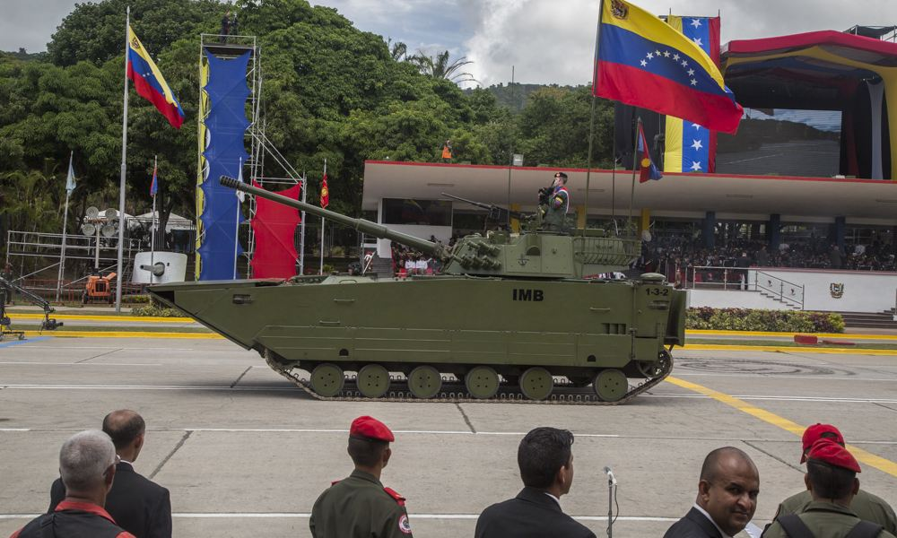 ZTD 05 VN 16 105mm light tank at Military Parade Venezuela Independence Day 2018 925 001