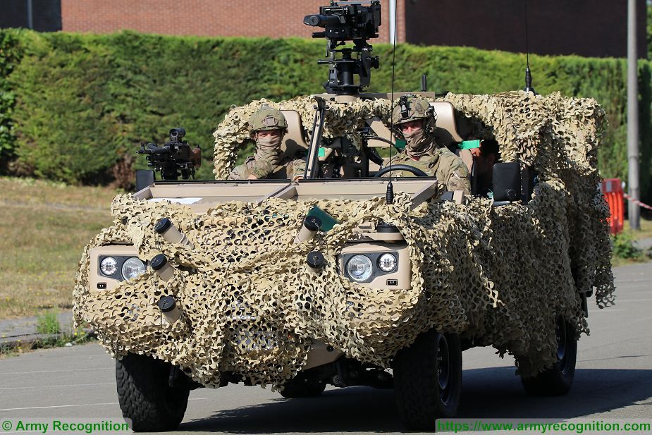 Analysis Belgium army parade 21 July 2018 armored and combat