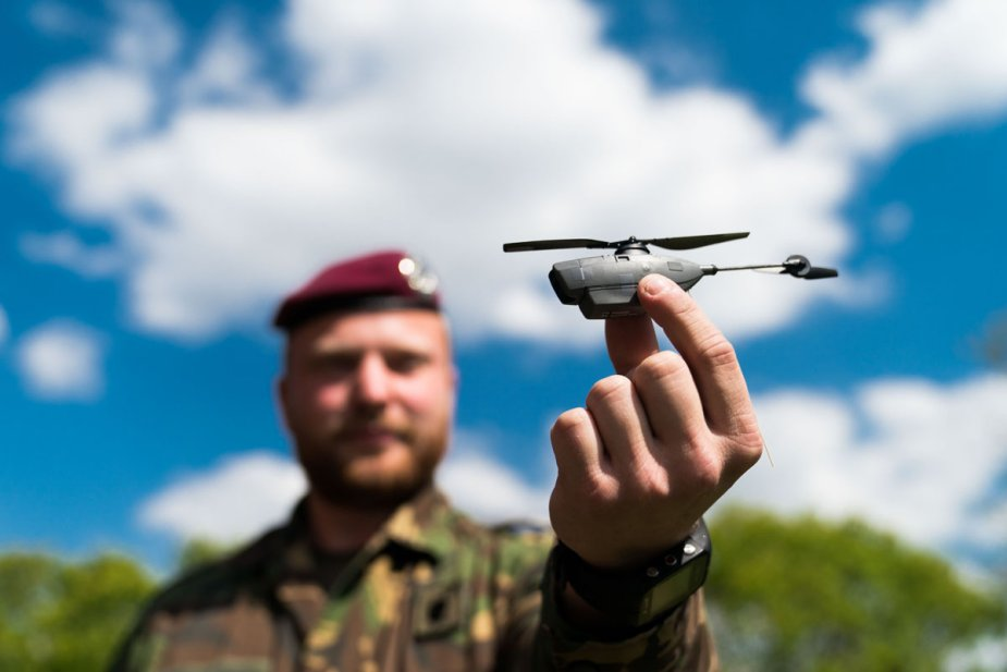 Black Hornet micro drones for Netherlands army scouts and marines