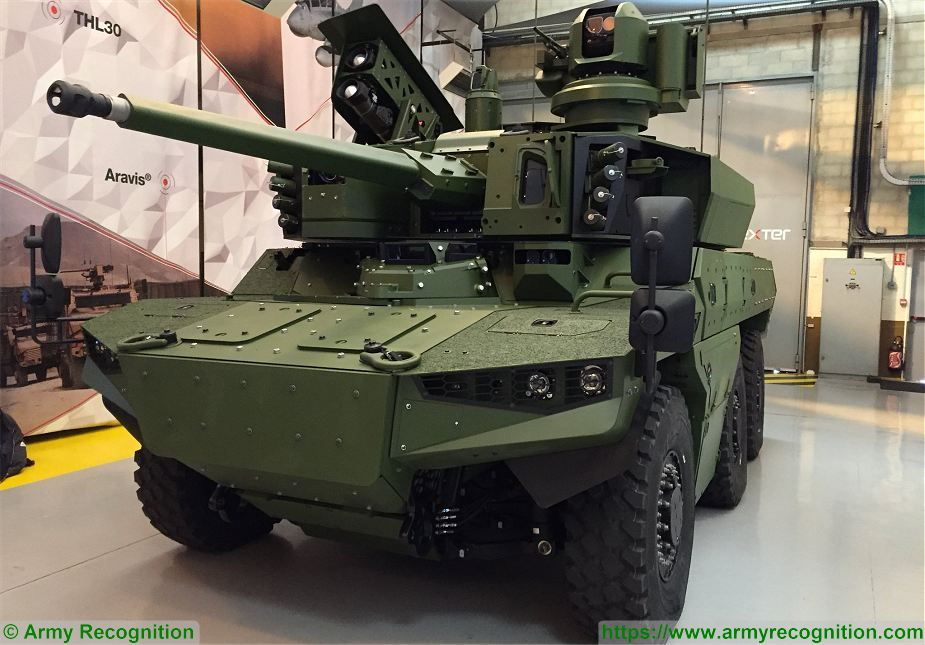 French defense industry unveils first prototype of Jagua 6x6 armored 925 001