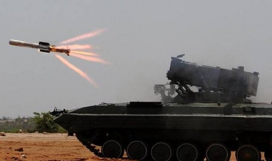 India to acquire 25 BMP 2 equipped with NAG missile