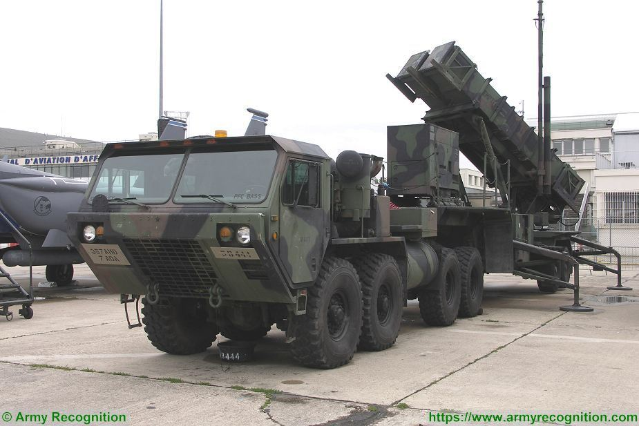 Sweden will purchase US Patriot air defense missile systems 925 002
