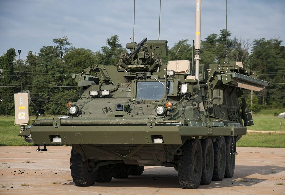 US Army continues to test Iron Curtain APS Active Protection System for combat vehicles 925 001